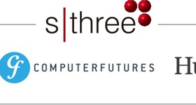 SThree Brand Logos Real Life Sciences Computer Futures Huxley